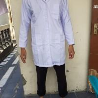 Jas Lab Lengan Panjang baju laboratorium baju praktek jas