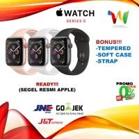 Apple Watch Series 5 44mm Gold Pink / Gray Grey Black Sport Band /Loop
