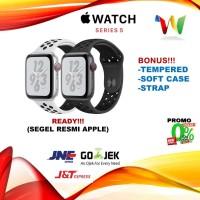 Apple Watch Series 5 44mm Nike Gray Grey Black /SIlver Sport Band Loop