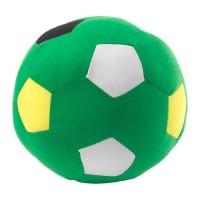 IKSparka Boneka Bantal Sepak Bola Hijau Ball Soft Toy 20Cm