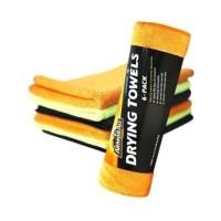 ARMOR ALL Microfiber Drying Towels 6 pack - lap handuk cuci mobil