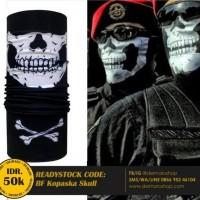 Baff Masker Bandana Multifungsi Korps Tengkorak - BF Kopaska Skull