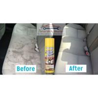 Spray Foam Pembersih Karpet Mobil Jok Beludru - WAXCO TOUGH STAIN 500