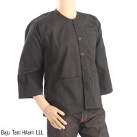 Baju Tani Baju Jadul Hitam Baju Tradisional Baju Warok - L3