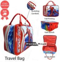 Travelbag Karakter Spiderman Anti Air Tas Koper Anak Tas Pakaian Anak