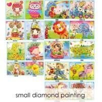 SMALL DIAMOND PAINTING-Stiker Manik-Diamond Mosaic Art N Craft