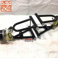 Sayap Swing Arm Depan Set ATV Buggy Go Kart 110 125 spare part