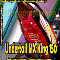 undertail selancar mx king 150 aksesoris motor
