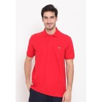 Jack Nicklaus Cordell Polo Shirt Pria Regular Fit Merah