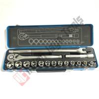MULTIPRO Kunci Sok Set 1/2 Inch 16 Pcs - Socket Soket Set