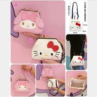 Tas Selempang Tenteng Tangan Hand Bag Hello Kitty My Melody
