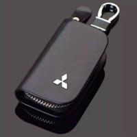 aksesoris gantungan kunci mobil dompet stnk mitsubishi pajero sport