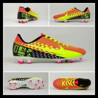 Sepatu Sepak Bola Dewasa Nike Mercurial Neymar Hitam Merah Hijau