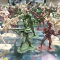 ARMY MEN Mainan Figure Pasukan Tentara