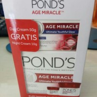 Ponds Age Miracle Day Cream 50g+Night Cream 10g