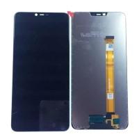 LCD OPPO A3S A5 REALME C1 C2 HITAM CPH1803