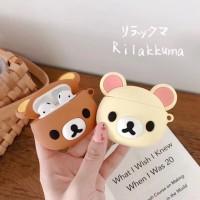Ready Stock! Case Airpods / Case Airpod Rilakkuma Cute Bear