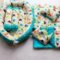 Baby Nest Set Bedcover Lengkap Motif Bisa Pilih