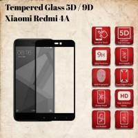 Xiaomi Redmi 4A Layar 5 Tempered Glass/Anti Gores Kaca Full Lem 5D/9D