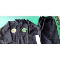 Baju Silat Pagar Nusa Seragam Pencak Silat NU+Sabuk Hijau+Bet BORDIR