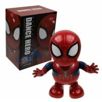 Robot Dance Super Hero Dance Hero Karakter Spiderman
