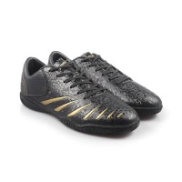Sepatu Futsal Olahraga Pria Ortuseight Blitz IN (Black Gold) Original