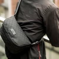 tas Gucci waist bag original authentic new