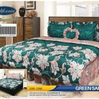 Ternama Bed Cover Set California / My Love King 180X200 / Badcover -