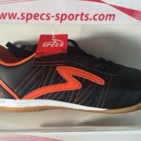 Terlaris Sepatu Futsal Specs Horus Black Orange 2015 Original 100%
