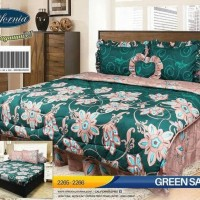 Promo Bed Cover Set California / My Love King 180X200 / Badcover - Bc