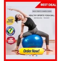 Bola yoga / bola pilates besar / Fintess Gym ball alat olahraga senam