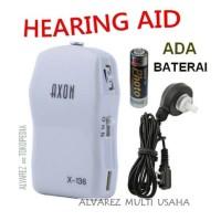 Alat Bantu Dengar/Hearing Aid Merk AXON X136