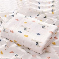Kain Selimut Bamboo Muslin Blanket Baby Hoppipolla - Cool Llama