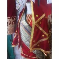 selendang dan baju pengantin koto gadang palembang padang minang