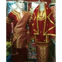 set baju koto gadang songket palembang padang minang