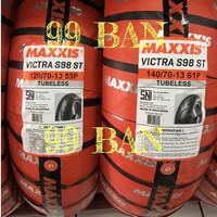 MAXXIS VICTRA S98 (SEPASANG) 120/70-13 & 140/70-13 (BAN YAMAHA NMAX)