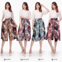 Naisha Celana kulot batik pendek 7per8 wanita fit to XXL