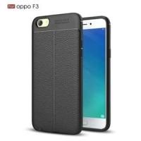 Case Casing Soft Case Auto Focus Oppo F3 - Hitam