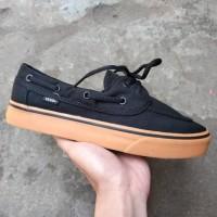 Sepatu Vans Zapato Black Gum Original Premium