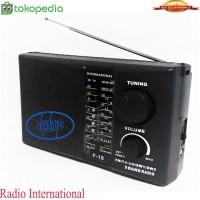 RADIO INTERNATIONAL F-18 AM/FM/SW MODEL JADUL ANTIK RADIO RODJA