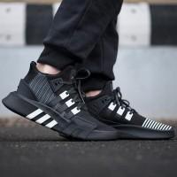 Sepatu Adidas Eqt Bask Adv Black White Premium Original