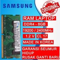 RAM NB DDR4 8GB PC 19200/2400 MHz SODIMM NB/LAPTOP SAMSUNG