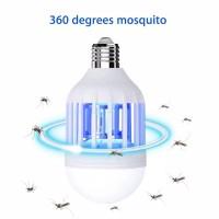 2 in 1 Lampu Bohlam LED Pembunuh Nyamuk / Lalat / Serangga