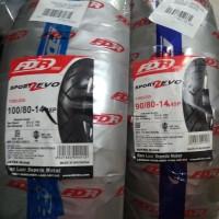 Paket Ban Tubeless FDR Zevo 90/80-14 dan 100/80-14