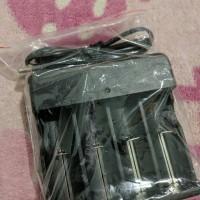 Charger baterai 4 slot / cas baterai