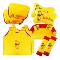 Bantal Set Mobil Komplit Baju 5in1 Motif Winnie The Pooh Warna Kuning