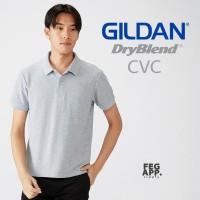 Kaos Polo Shirt GILDAN DryBlend CVC 95800 Sport Shirt Import Original