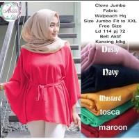 batwing kalong blouse baju atasan wanita muslim pesta kebaya xxl xl