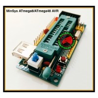 MINIMUM SYSTEM ATMEGA8 ATMEGA328 ATMEGA48 - MinSys ATmega
