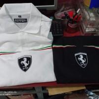 Polo shirt - kaos kerah ferrari high quality